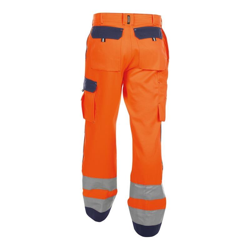 Arbeitshosen » Warnschutz Arbeitshose Dassy BUFFALO, orangeblau