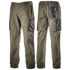 DIADORA Cargohose / Workerhose STRETCH CUFF PLUS,...