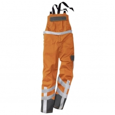 Kübler Warnschutz-Latzhose, SAFETY X7, orange/anthrazit