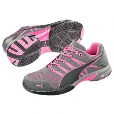 S1 Damen-Sicherheitsschuh Puma CELERITY KNIT Low, pink/black