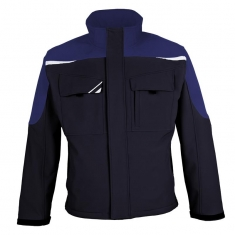 Softshelljacke pka BESTWORK NEW, marine/royal