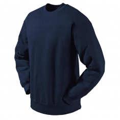 Sweat-Shirt FRUIT of the LOOM, einfarbig, marineblau