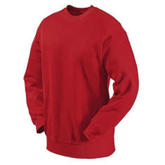 Sweat-Shirt FRUIT of the LOOM, einfarbig, rot