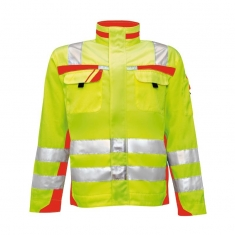 Warnschutz-Bundjacke pka SAFETY Comfort, gelb/orange