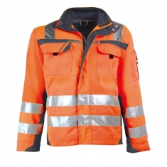 Warnschutz-Bundjacke pka SAFETY Comfort, orange/grau
