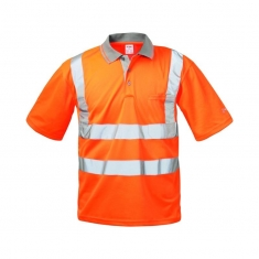 Warnschutz Poloshirt Safestyle EN471, orange