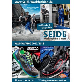 GRATIS-Hauptkatalog 2017/2018 der Firma SEIDL Workfashion & more OHG