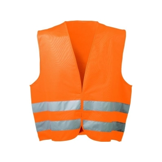 Warnweste OSKAR aus 100% Polyester, orange