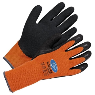 Winter-Arbeitshandschuh KORI ICE THERMO, latexbeschichtet, orange