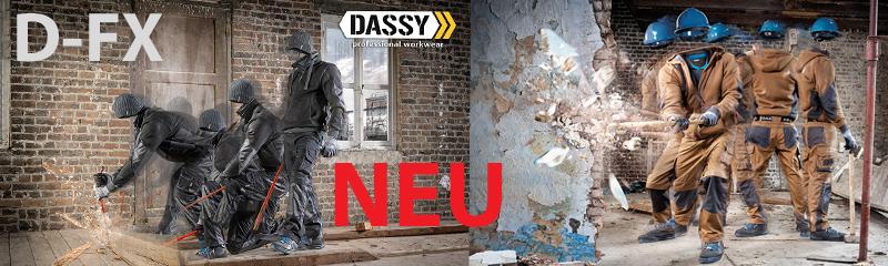 Die neue Kollektion D-FX von Dassy